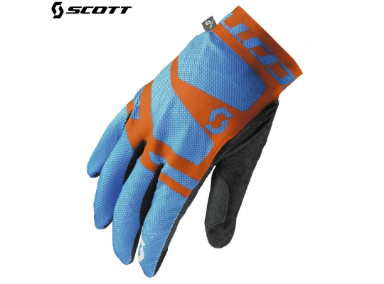Велоперчатки Scott Endurance LF Glove 2016 blue/orange