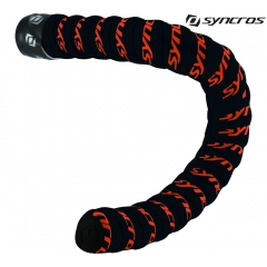 Обмотка на руль Syncros Premium Cork Gel black/neon orange
