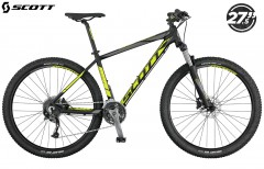 Горный велосипед Scott Aspect 740 2017 black/yellow/grey