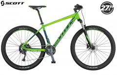 Горный велосипед Scott Aspect 740 2017 green/blue/lt green