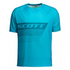 Велофутболка Scott Trail 60 sea blue/blue coral