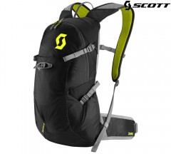 Велорюкзак Scott Trail Rocket FR 12 caviar black/sulphur yellow
