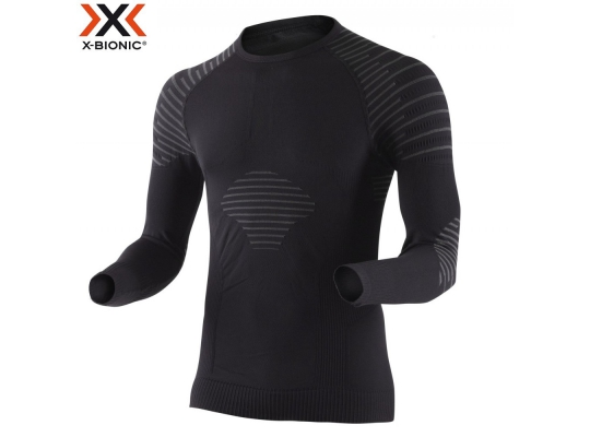 Термобелье мужское X-Bionic Invent Man Shirt Long Sleeves Round Neck