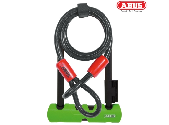 Велосипедный замок ABUS Ultra 410 Mini LS + Cobra Cable