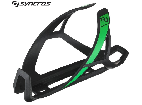 Флягодержатель Syncros Composite 2.0 black/neon green