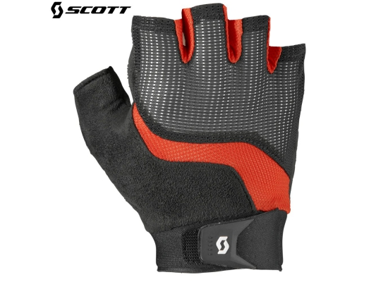 Велоперчатки Scott Essential SF Glove 2016 black/fiery red