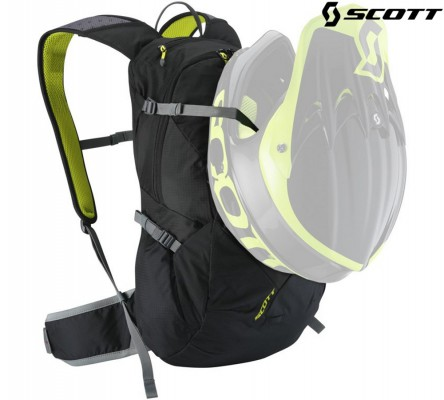 Велорюкзак Scott Trail Rocket FR 18 caviar black/sulphur yellow