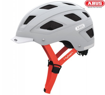 Велошлем ABUS Hyban brilliant grey