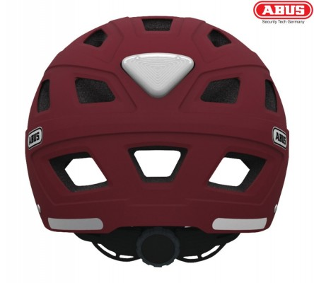 Велошлем ABUS Hyban marsala red