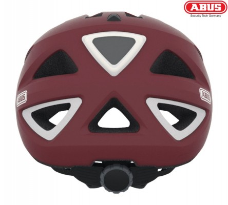 Велошлем ABUS Urban-I v.2 marsala red