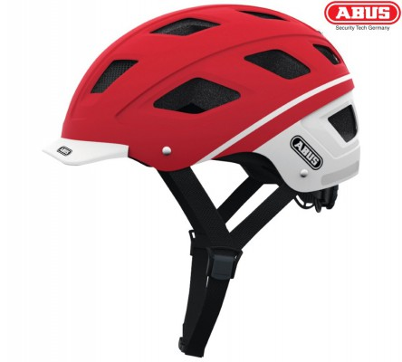 Велошлем ABUS Hyban label red