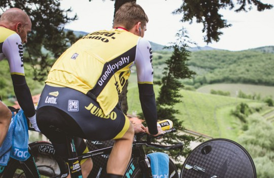 Велофляга Tacx Pro Team bottle LottoNL-Jumbo