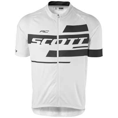 Велофутболка Scott RC Team 10 white/black 2017