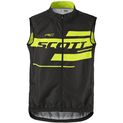 Веложилетка Scott RC Team 10 2017 black/sulphur yellow