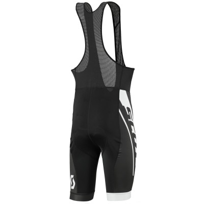 Велошорты Scott RC Team bibshorts black/white 2017