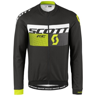Велокуртка Scott RC AS black-sulphur yellow 2017