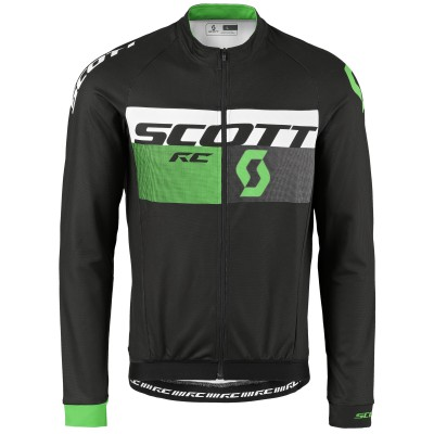Велокуртка Scott RC AS black-neon green 2017