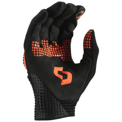 Велоперчатки Scott Superstitious Lf black-tangerine orange