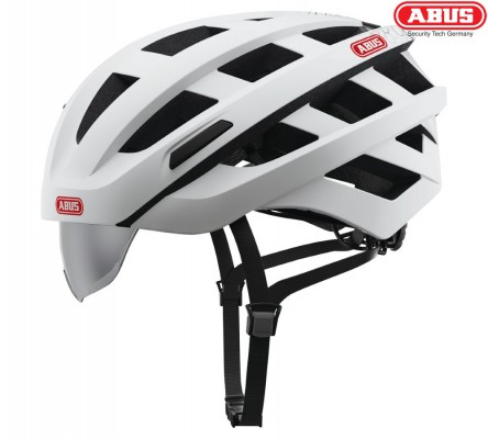Велошлем ABUS In-Vizz Ascent polar matt