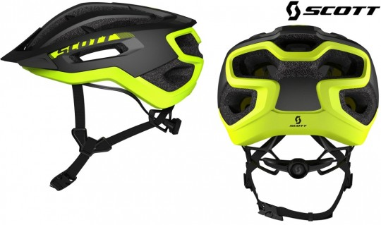 Велошлем Scott Fuga Plus black/yellow RC