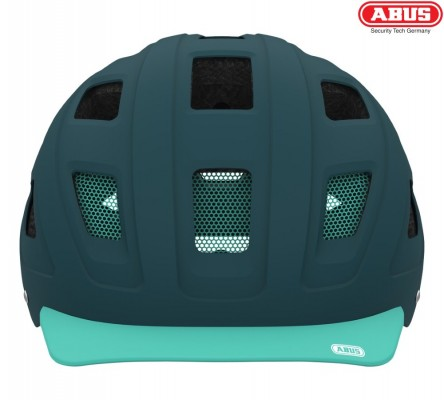 Велошлем ABUS Hyban core green