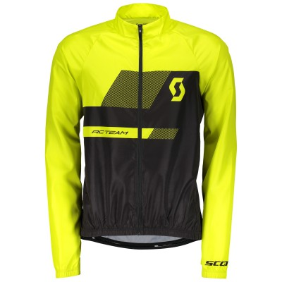 Веловетровка Scott RC Team 10 yellow 2018