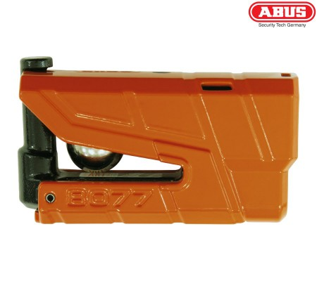 Мотозамок на диск с сигнализацией ABUS 8077 Granit X-Plus Detecto orange