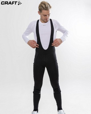 Теплые велорейтузы Craft Ideal Thermal Wind Bib Tights 1906563
