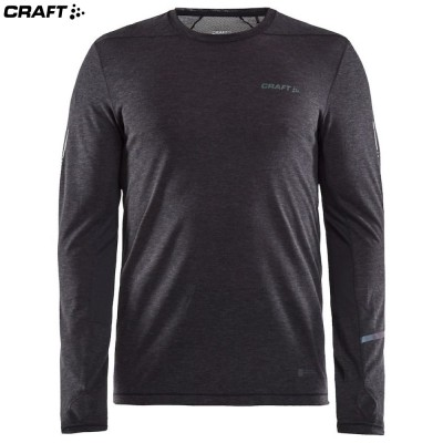 Craft SubZ LS Wool Tee 1907712 черный