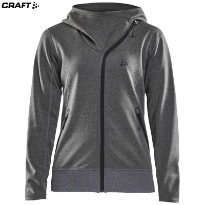 Флисовая кофта Craft Sports Fleece Assymetric Wmn 1908010