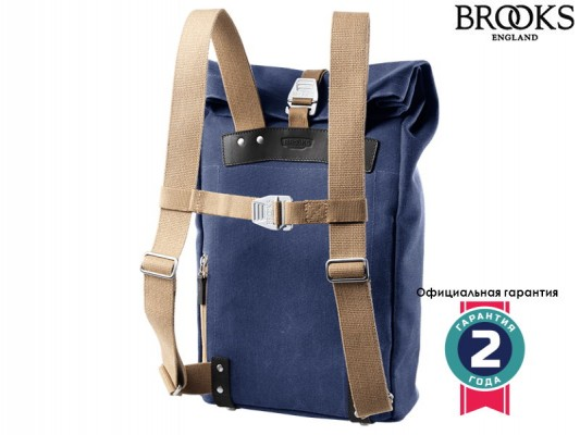 Brooks Pickwick Small Backpack dark blue