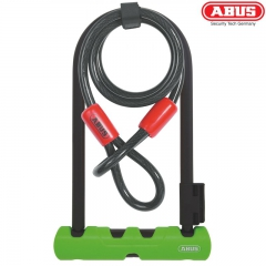Велосипедный замок ABUS Ultra 410 + Cobra Cable