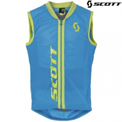 Детская защита на спину Scott Soft Actifit Junior Vest vibrant blue/green