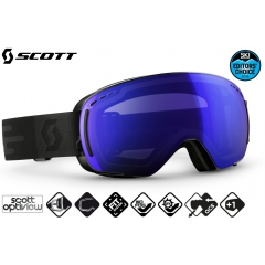 Лыжная маска Scott LCG Compact black light sensitive