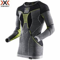 Термобелье с шерстью X-Bionic Apani Merino Fastflow Man Shirt Long Sleeves