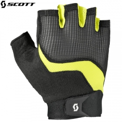 Велоперчатки Scott Essential SF Glove 2016 black/sulphur yellow