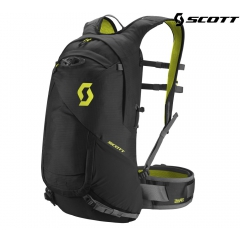 Велорюкзак Scott Trail Protect FR 16 caviar black/sulphur yellow
