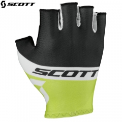 Велоперчатки Scott RC Team SF Glove 2016 black/macaw green
