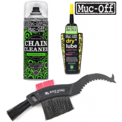 Набор для чистки велосипеда Muc-Off with chain brush
