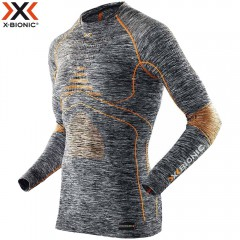 Термобелье X-Bionic Energy Accumulator EVO Melange Man Shirt Long Sleeves Roundneck
