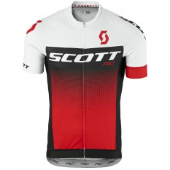 Велофутболка Scott RC Pro white/red 2017