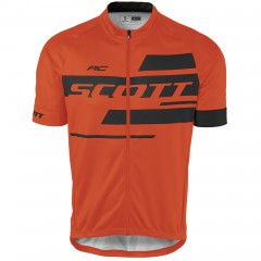 Велофутболка Scott RC Team 10 tangerine orange/black