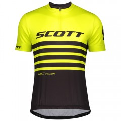 Велофутболка Scott RC Team 20 black/sulphur yellow