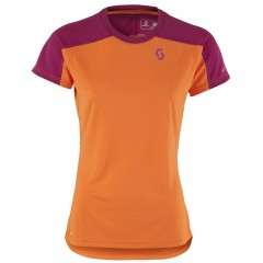Женская велофутболка Scott Trail MTN Polar 20 plum violet/carrot orange