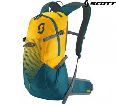 Велорюкзак Scott Trail Rocket FR 12 citrus yellow/legion blue