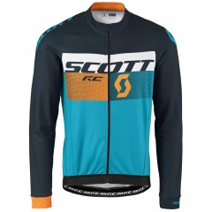 Велокуртка Scott RC AS hawaii blue-neon orange 2017