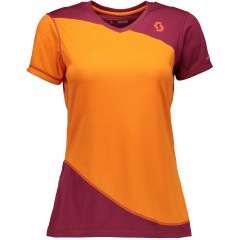 Женская велофутболка Scott Trail MTN 40 plum violet/carrot orange