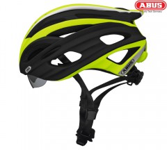 Велошлем ABUS In-Vizz race green