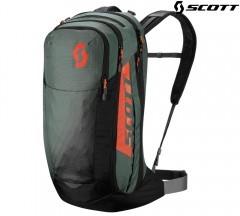 Велорюкзак Scott Trail Rocket Evo FR 24 dark green/mandarin