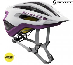 Велошлем Scott Fuga Plus white/purple